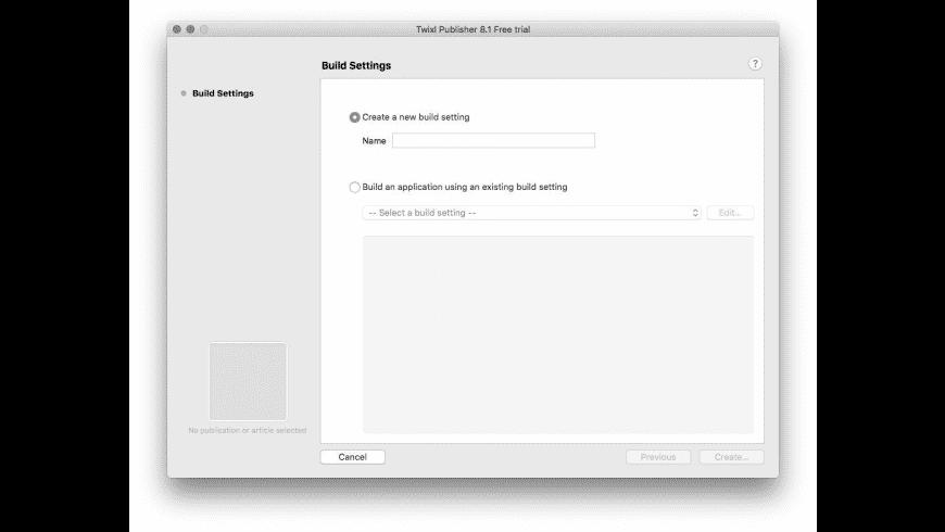 Twixl Publisher for Mac - review, screenshots