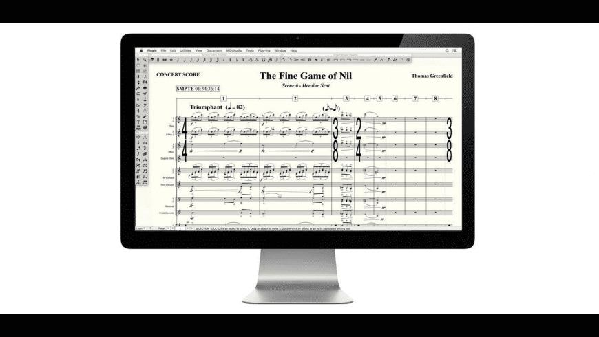Finale for Mac - review, screenshots