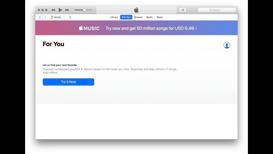 iTunes for Mac - review, screenshots