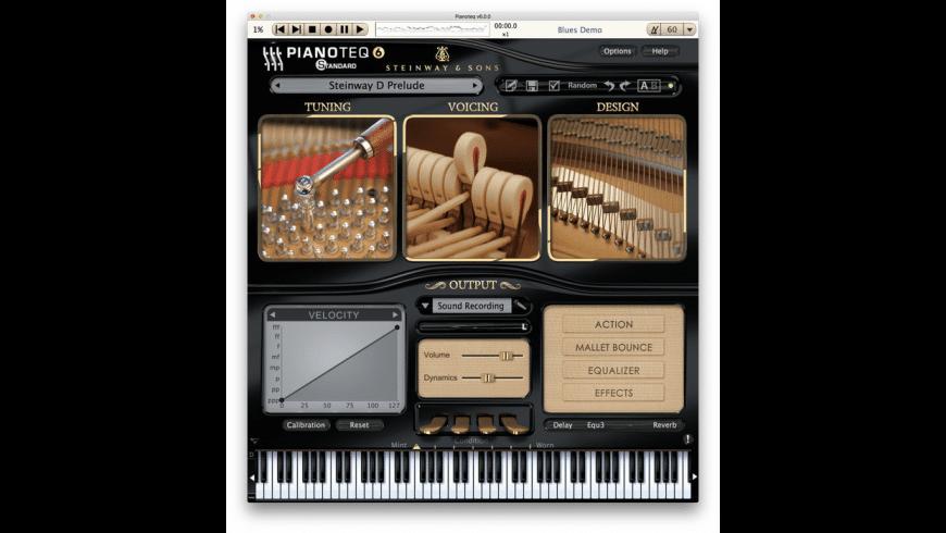 Pianoteq for Mac - review, screenshots