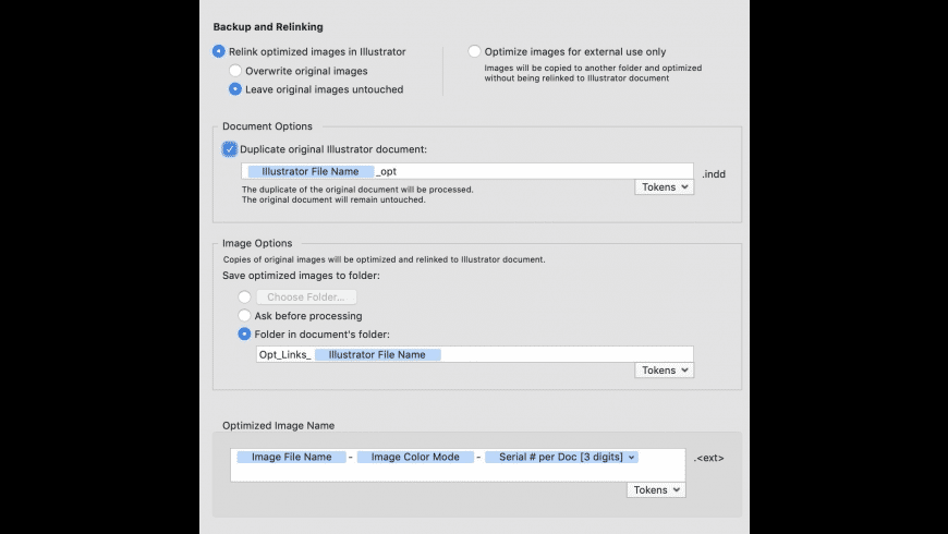 ArtOptimizer for Mac - review, screenshots