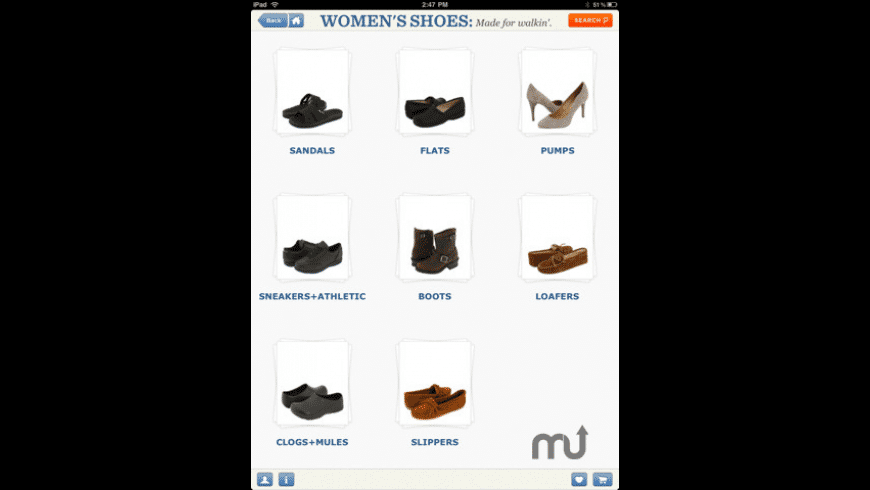 Zappos Mobile for Mac - review, screenshots