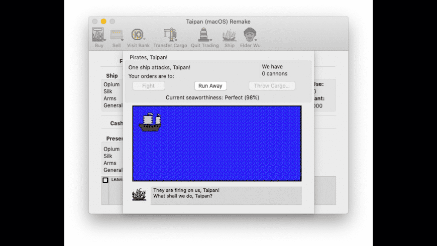 Taipan for Mac - review, screenshots