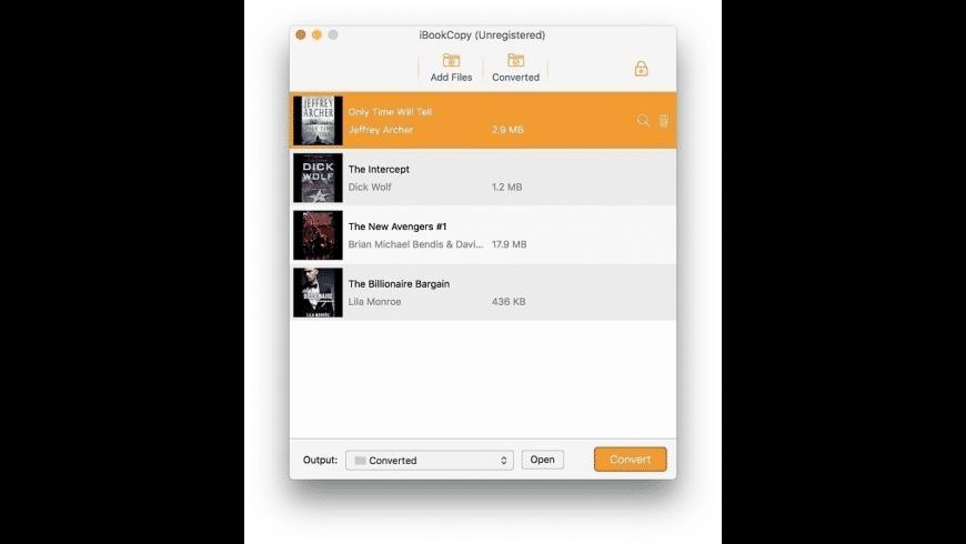 TunesKit iBook Copy for Mac - review, screenshots