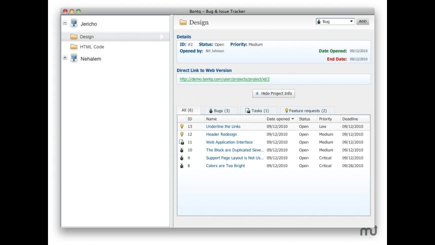 Bontq for Mac - review, screenshots