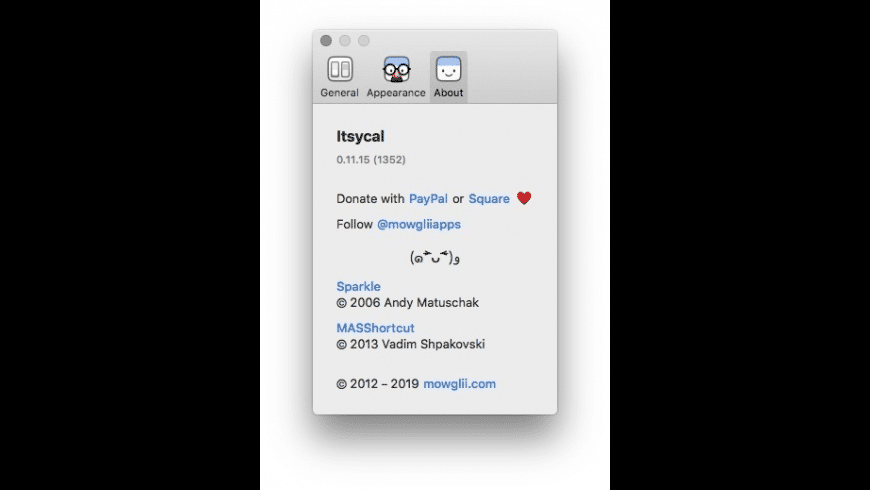 Itsycal for Mac - review, screenshots