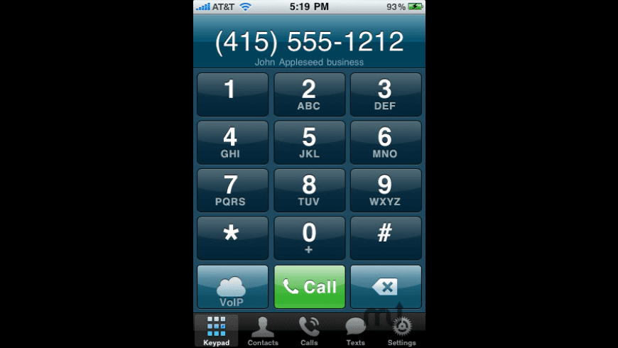 Line2 - 2 Numbers 1 iPhone for Mac - review, screenshots