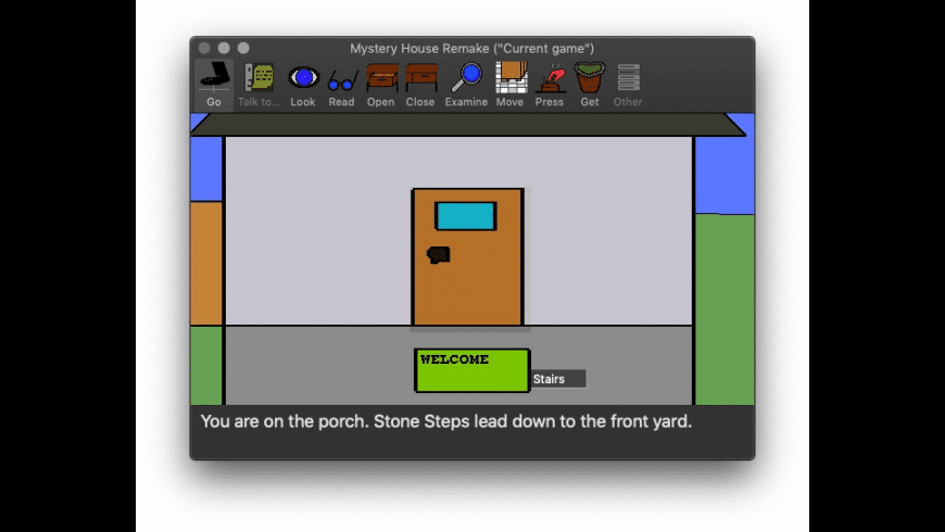 Mystery House for Mac - review, screenshots