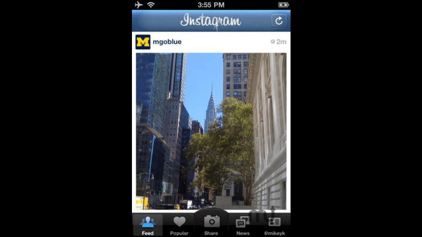 Instagram for Mac - review, screenshots