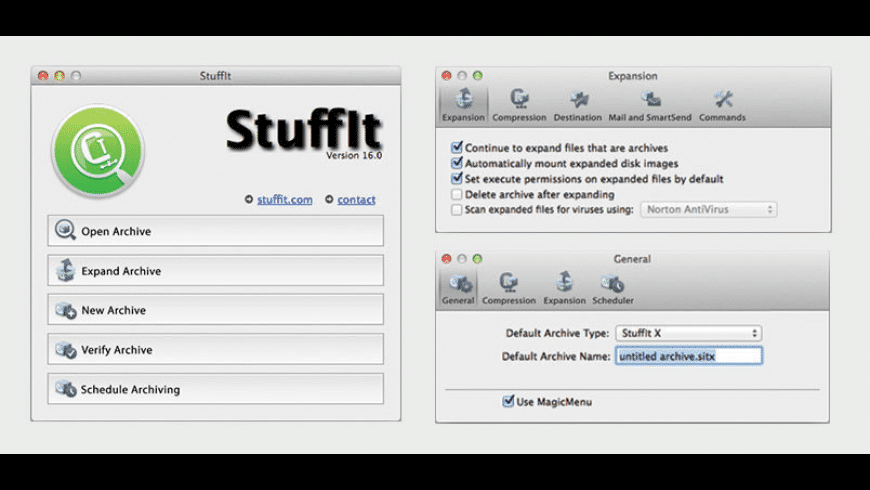 StuffIt Deluxe for Mac - review, screenshots