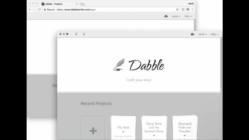 Dabble for Mac - review, screenshots