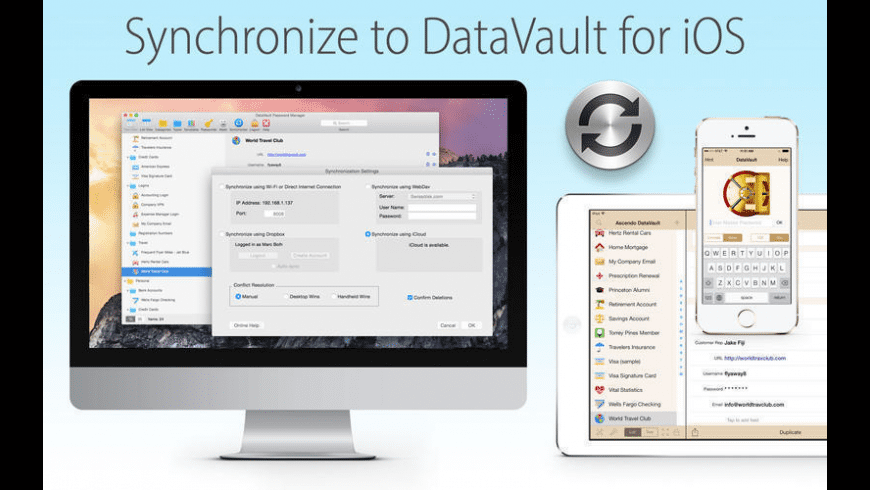 DataVault Password Manager for Mac - review, screenshots