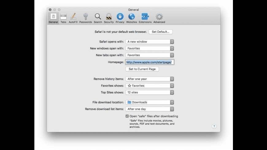 Apple Safari for Mac - review, screenshots