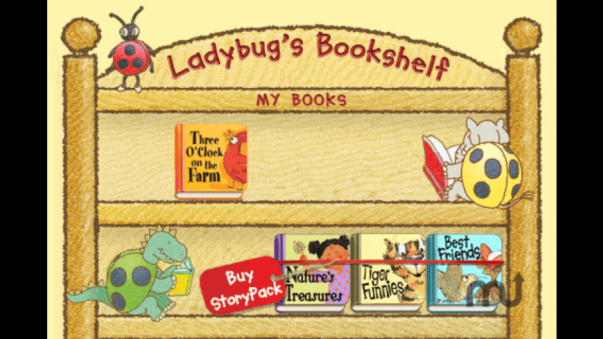 Ladybug\'s Bookshelf for Mac - review, screenshots