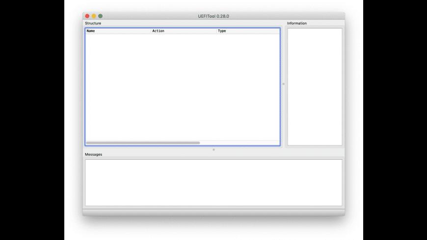 UEFITool for Mac - review, screenshots