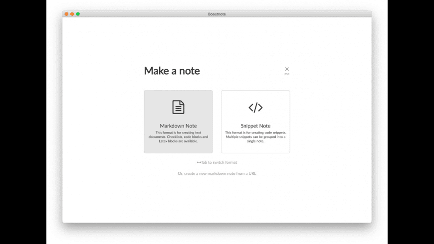 Boostnote for Mac - review, screenshots