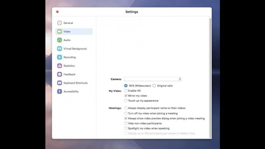 Zoom for Mac - review, screenshots