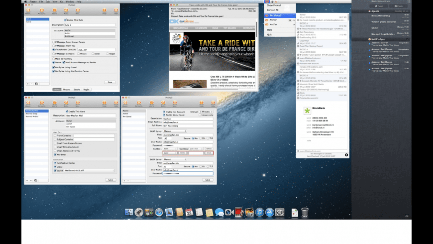 Mail PreSync for Mac - review, screenshots