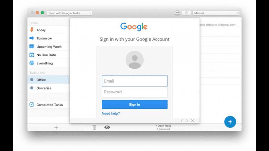 gTasks Pro for Mac - review, screenshots
