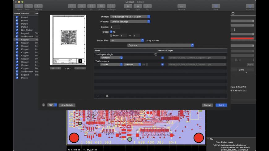 Cuprum for Mac - review, screenshots