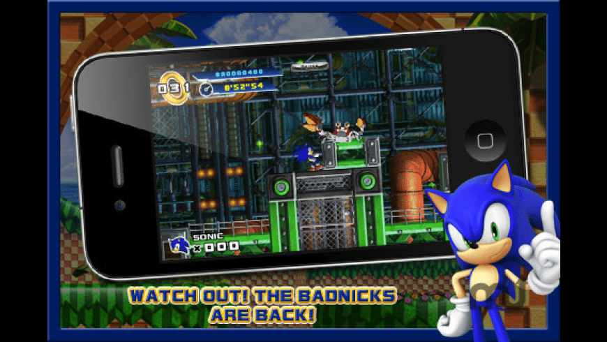 Sonic The Hedgehog 4: Episode I for Mac - review, screenshots