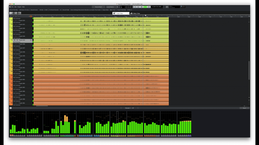Nuendo Live 2 for Mac - review, screenshots