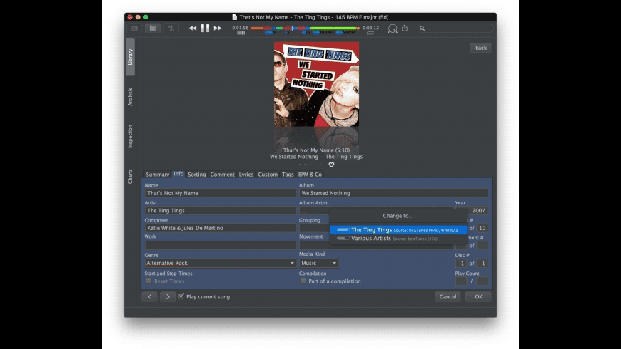beaTunes for Mac - review, screenshots