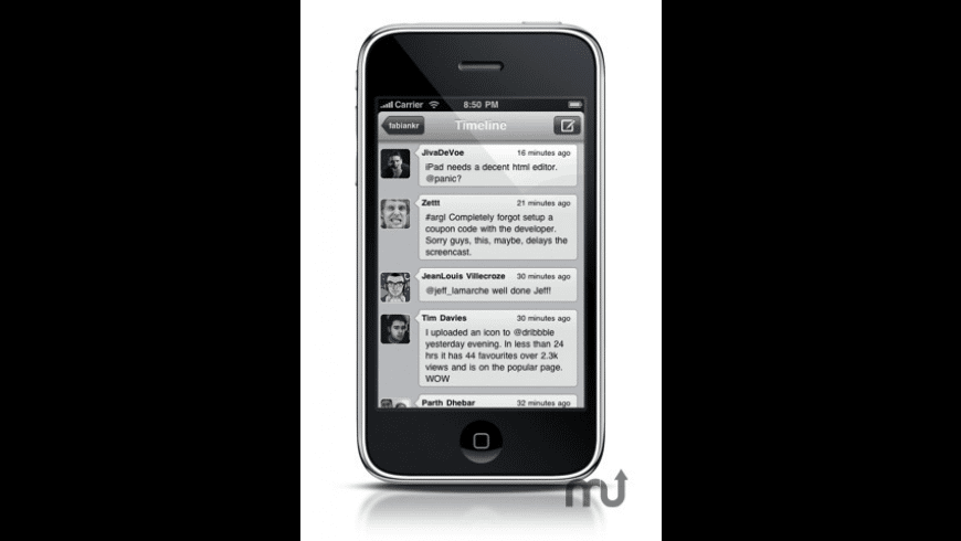 Icebird for iPhone for Mac - review, screenshots