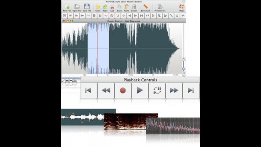 WavePad for Mac - review, screenshots
