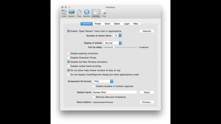 Cocktail for Mac - review, screenshots