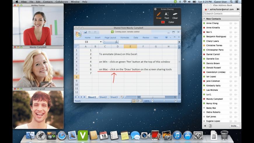 VSee for Mac - review, screenshots