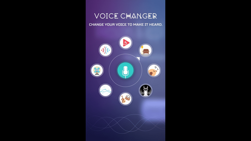 Voice Changer App for Mac - review, screenshots