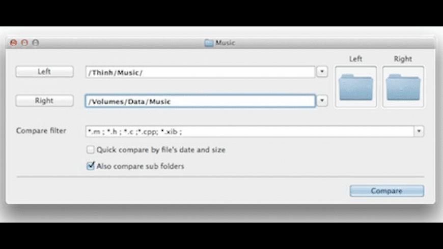 CompareMerge for Mac - review, screenshots