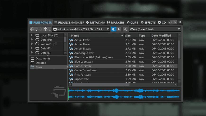 пWaveLab Pro for Mac - review, screenshots