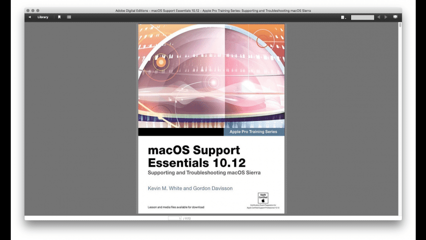 Adobe Digital Editions for Mac - review, screenshots
