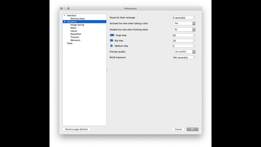 Helicon Remote for Mac - review, screenshots