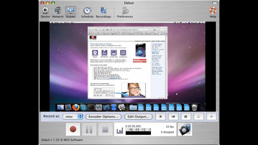 Debut for Mac - review, screenshots