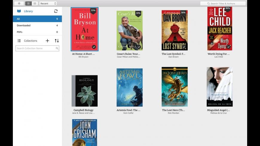 Kindle for Mac - review, screenshots