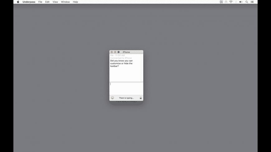 Underpass for Mac - review, screenshots