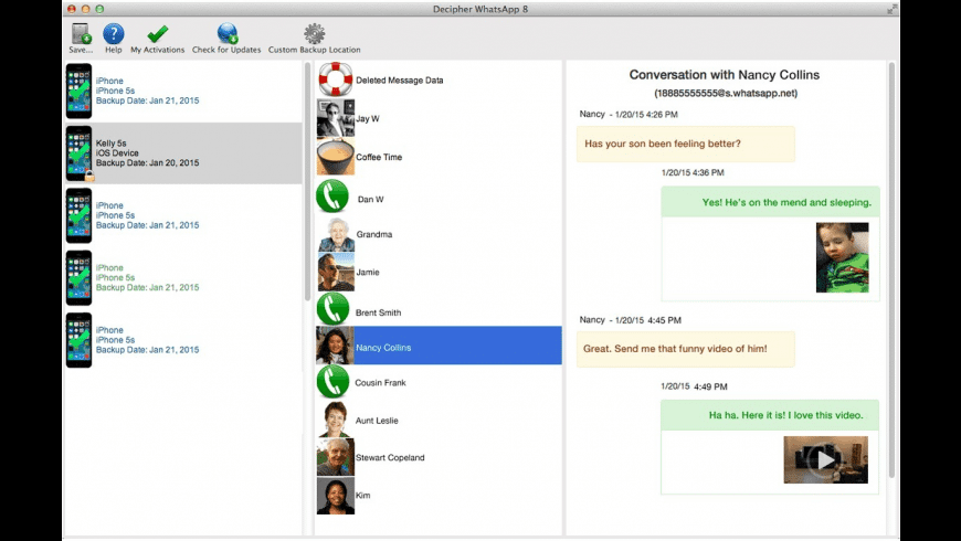 Decipher Chat for Mac - review, screenshots