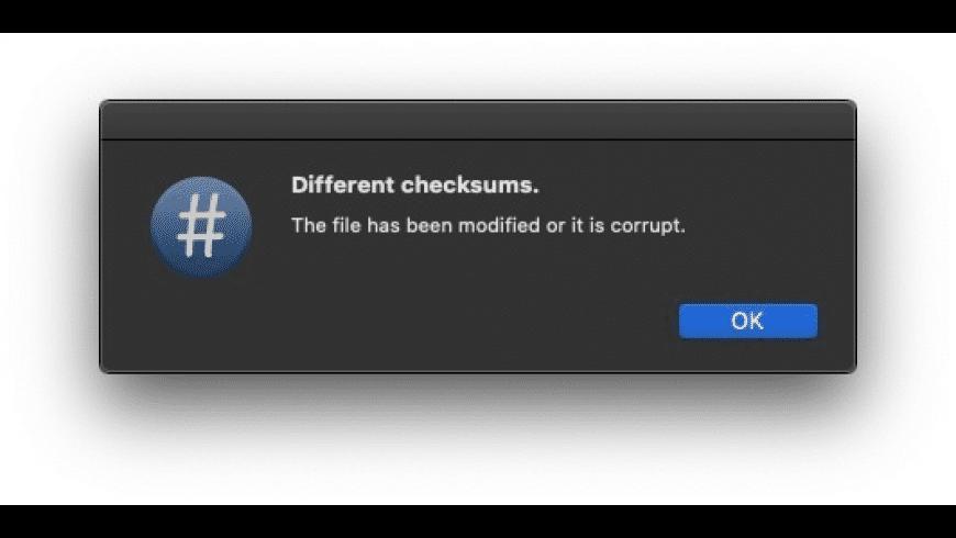 CalHash for Mac - review, screenshots