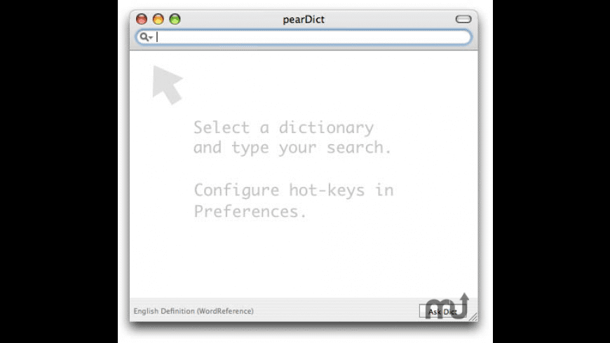 pearDict for Mac - review, screenshots