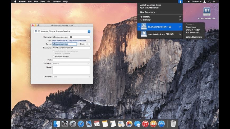 Mountain Duck for Mac - review, screenshots
