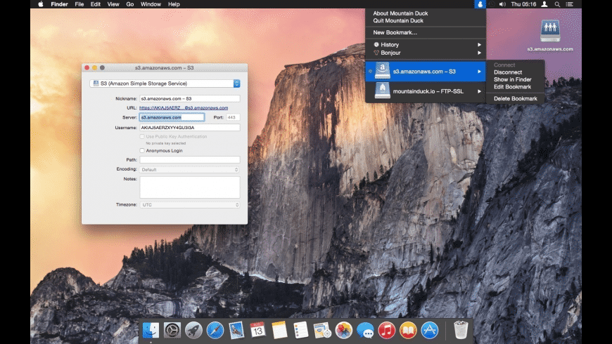 Mountain Duck for Mac - review, screenshots