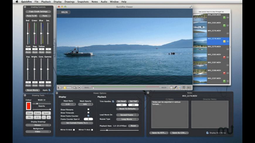 Quickfire for Mac - review, screenshots