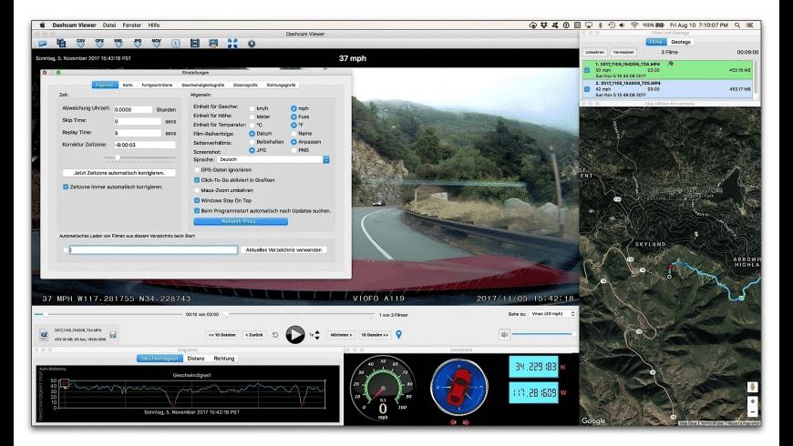 Dashcam Viewer for Mac - review, screenshots
