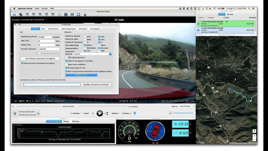 Dashcam Viewer for Mac - review, screenshots