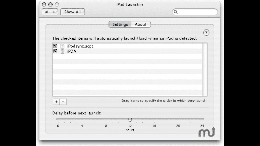 iPod Launcher for Mac - review, screenshots