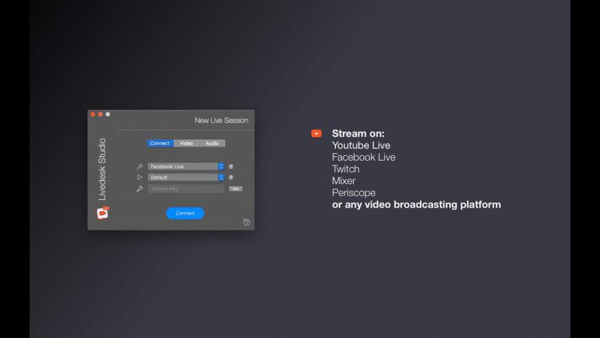 Livedesk Studio for Mac - review, screenshots