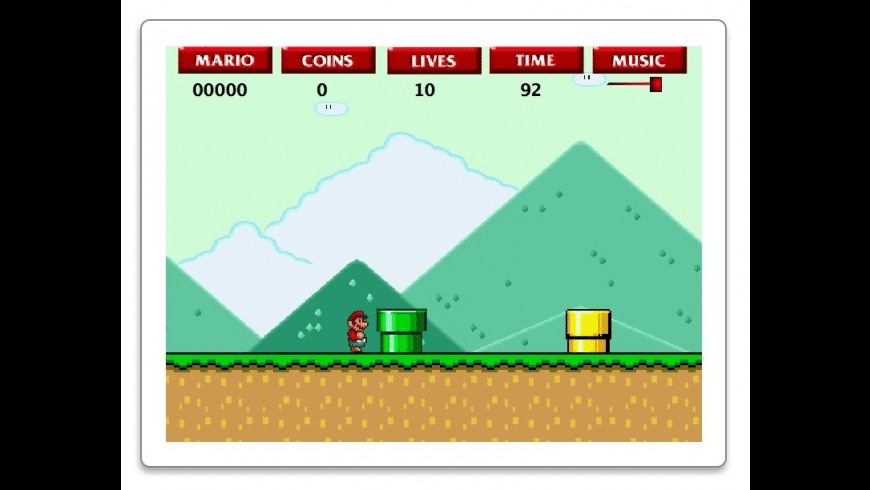 SuperMario Widget for Mac - review, screenshots